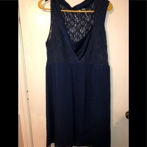 Navy Dress from catos